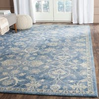 Safavieh Sofia Vintage Oriental Blue/ Beige Distressed Rug (8' x 11') - 8' x 11'