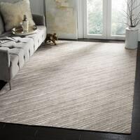 Safavieh Handmade Mirage Modern Grey Wool/ Viscose Area Rug - 6' x 9'