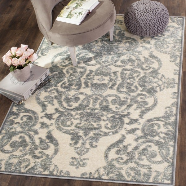 Safavieh Paradise Grey/ Multi Viscose Rug - 8' x 11'2