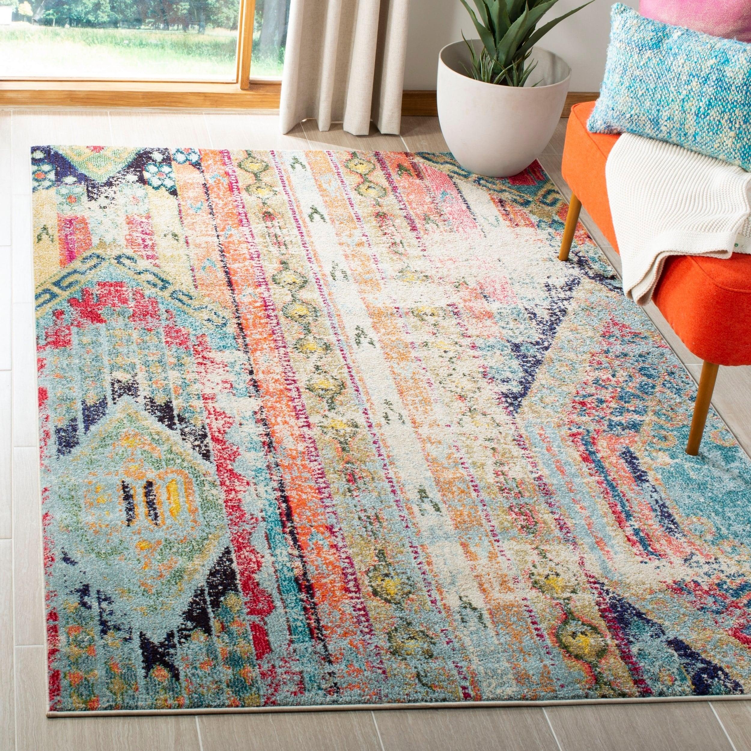 safavieh monaco vintage bohemian distressed rug 8u0027 x