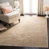 Safavieh Vintage Oriental Cream Distressed Silky Viscose Rug - 6'7 x 9'2