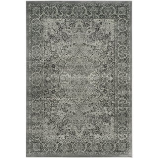 Safavieh Paradise Light Grey/ Anthracite Viscose Rug (8' x 11'2)