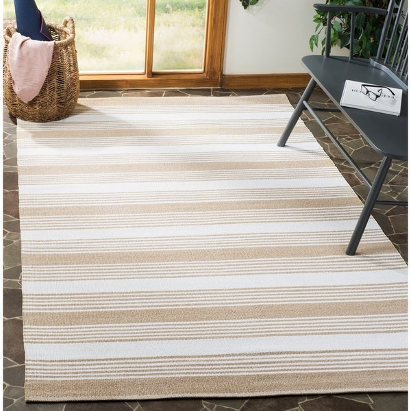 Safavieh Hand-Knotted Thom Filicia Beige Wool Rug - 8' x 10'
