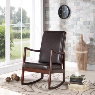 Bishop Contemporary Cushion Rocking Chair