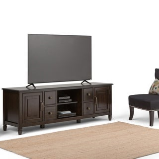 WYNDENHALL Hampshire 72-inch TV Media Stand for up to 80-inch TV's