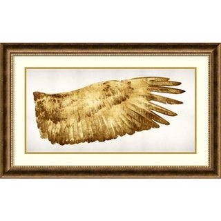 Kate Bennett 'Golden Wing II' Framed Art Print 36 x 22-inch