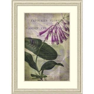 John Butler 'Favorite Flowers III' Framed Art Print 31 x 41-inch