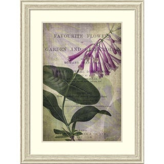 Framed Art Print 'Favorite Flowers III' by John Butler 32 x 42-inch