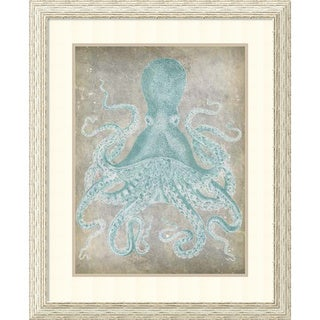 Jennifer Goldberger 'Spa Octopus I' Framed Art Print 27 x 33-inch