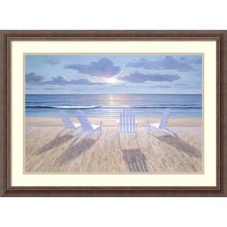 Diane Romanello 'Friends & Lovers' Framed Art Print 31 x 23-inch