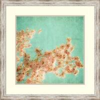 Framed Art Print 'Fleurish I' by Ryan Hartson-Weddle 27 x 27-inch