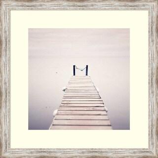 Margaret Morrissey 'Take Me to the Horizon' Framed Art Print 25 x 25-inch