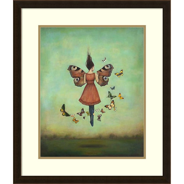 Framed Art Print 'Imago Sky' by Duy Huynh 24 x 28-inch