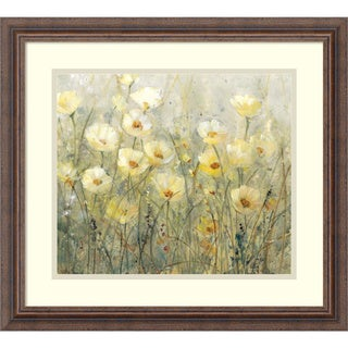 Tim O'Toole 'Summer in Bloom I' Framed Art Print 21 x 19-inch
