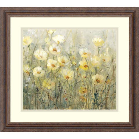 Framed Art Print 'Summer in Bloom I' by Tim O'Toole 21 x 19-inch