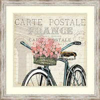 Framed Art Print 'Paris Ride II' by Pela Studio 27 x 27-inch
