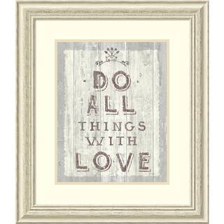 Framed Art Print 'Do All Things Driftwood' by Sue Schlabach 25 x 28-inch|https://ak1.ostkcdn.com/images/products/10467288/P17558047.jpg?impolicy=medium