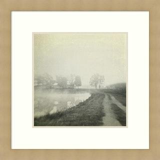 Dawn Hanna 'Foggy Sunrise' Framed Art Print 27 x 27-inch