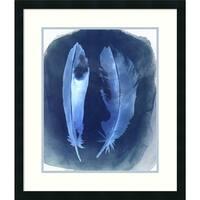 Framed Art Print 'Feather Negatives I' by Grace Popp 24 x 28-inch