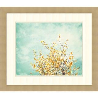 Framed Art Print 'Gentle Whisper' by Carolyn Cochrane 29 x 25-inch