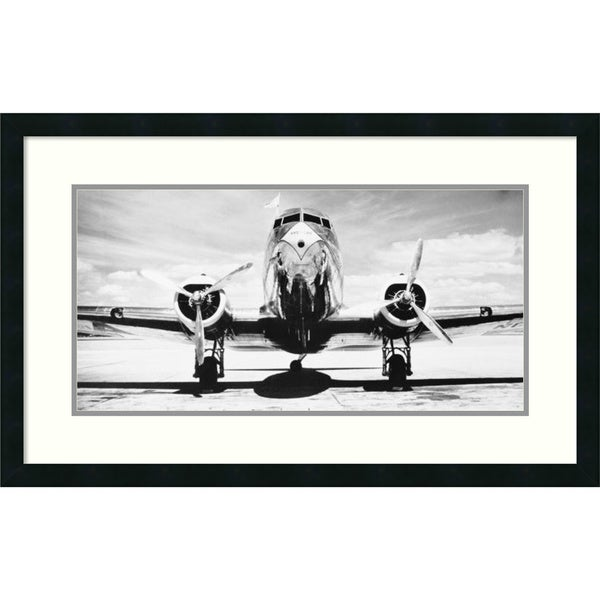 Shop Framed Art Print \'Passenger Airplane on Runway\' by Philip ...