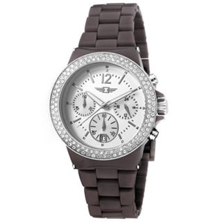 Invicta Women's Chronographl Fashion Grey Band Date Watch