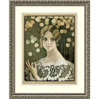 Paul Berthon 'Lace' Framed Art Print 18 x 22-inch
