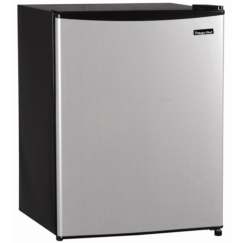 Magic Chef MCBR240S1 2.4 cubic foot Mini Refrigerator (St...