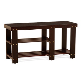 Shoes & Boots Entryway Storage Bench