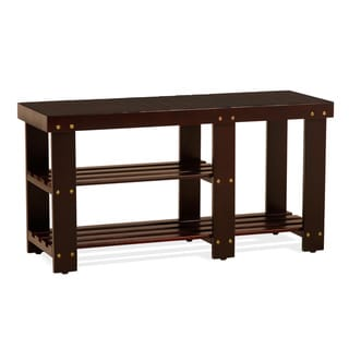 Shoes Boots Entryway Storage Bench
