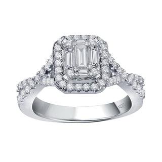 Baguette-cut Diamonds vs Emerald-cut Diamonds