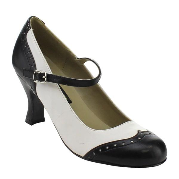 2a11da8fa69 Shop Funtasma Flapper-25 Women s 3-inch Kitten Heel Round Toe ...