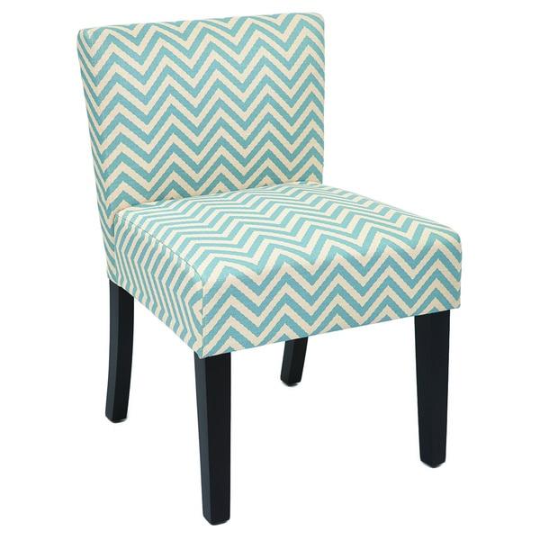 Inspired by Bassett Bristol Ziggi Mist Accent Chair