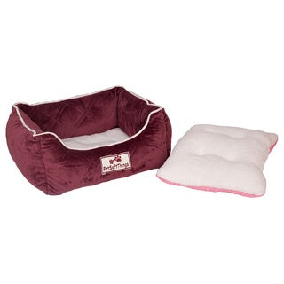 Pet Soft Things Microplush Quilted Pet Bed
