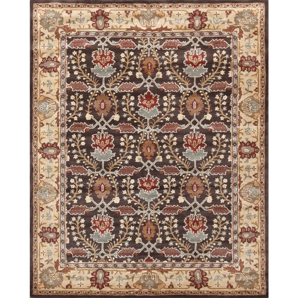 Shop ABC Accents Brandon Arts And Crafts Brown Beige Wool