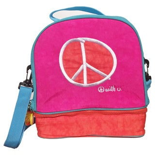 Biglove Peace Double Compartment Lunch Bag
