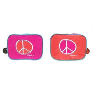 Biglove Love Small Square Cosmetic Travel Bag
