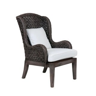 Rainier Rustic Smokey Grey Accent Chair