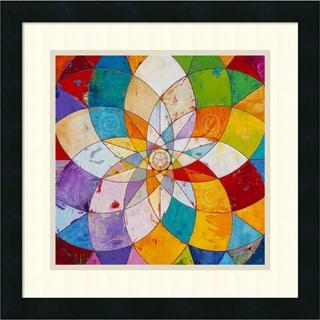 James Wyper 'Kaleidoscopic' Framed Art Print 18 x 18-inch