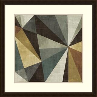 Framed Art Print 'Triangulawesome' by Michael Mullan 26 x 26-inch