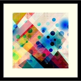 Amy Lighthall 'Spots II' Framed Art Print 17 x 17-inch