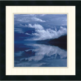 Framed Art Print 'Glacial Mist' by Leslie Mueller 18 x 18-inch https://ak1.ostkcdn.com/images/products/10467667/P17558341.jpg?impolicy=medium