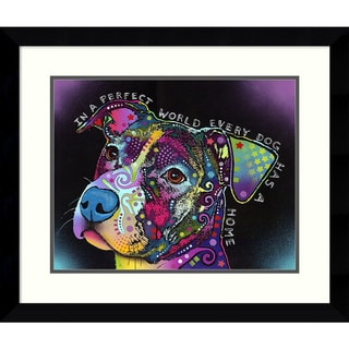 Dean Russo 'In a Perfect World' Framed Art Print 29 x 25-inch