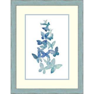 Framed Art Print 'Butterfly Falls I' by Grace Popp 21 x 27-inch