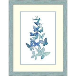 Framed Art Print 'Butterfly Falls I' by Grace Popp 21 x 27-inch