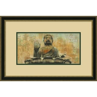 Dario Moschetta 'Buddha the Enlightened' Framed Art Print 25 x 17-inch