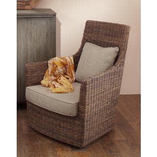 Lowell Casual Brown Textured Chair