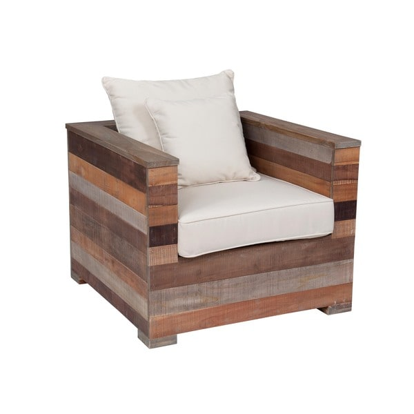 Edmonton Modern Brown Accent Chair. Opens flyout.