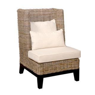 Hamilton Casual Off-White Textured Chair