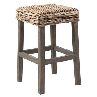 Snoqualmie Rustic Tan Textured Barstool